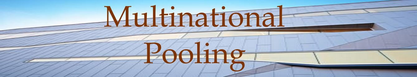 Multinational Pooling
